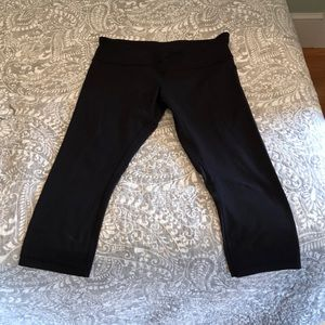 Lululemon cropped leggings ONLY WORN ONCE
